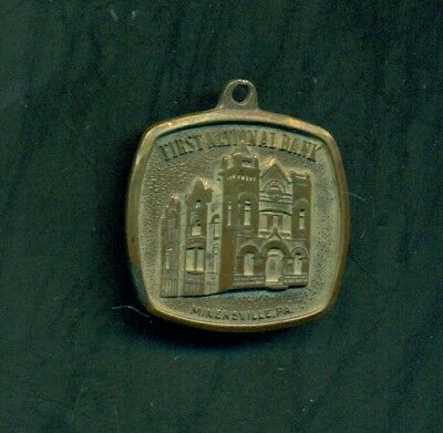 1964 Minersville,PA - First National Bank 100th Anniversary Medallion