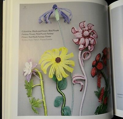 Beads In Bloom The Art Of Making French Beaded Flowers Baker How To Book 2002