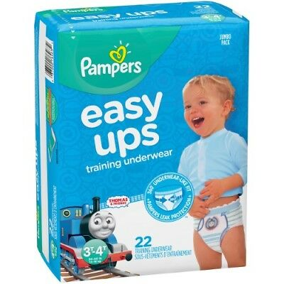 Pampers Boys' Easy Ups Training Underwear