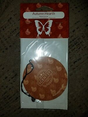 Scentsy AUTUMN HEARTH Scent circle FREE SHIPPING