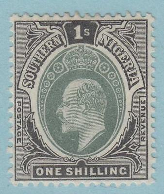 Southern Nigeria 27  Mint Hinged Og * No Faults Very Fine !