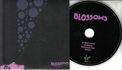 BLOSSOMS At Most A Kiss 2016 UK 4-track promo test CD