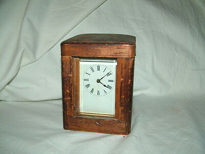 very old antique carriage clock