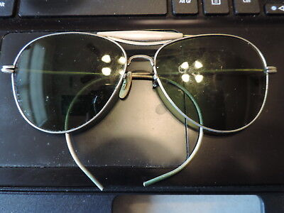 WWII Aviator EYE GLASSES from Area Estate