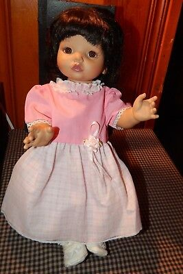 """1995 BABY SO BEAUTIFUL 14"""" Doll PlaymatesW/ Clothes & Shoes EUC"""