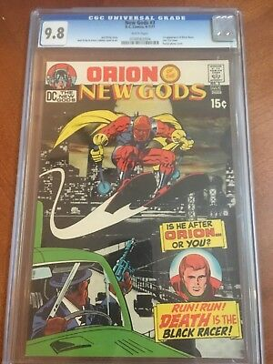 New Gods #3 CGC 9.8 White Pages First Appearance Black Racer