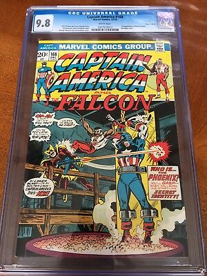Captain America #168 CGC 9.8 white pages 1st Appearance Helmut Zemo