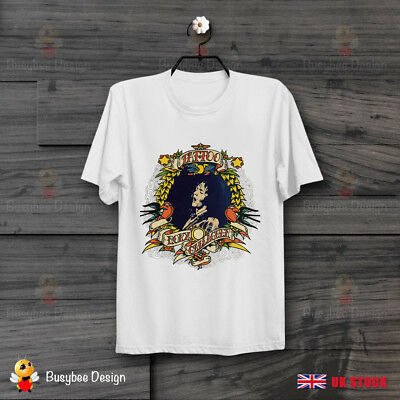 Rory Gallagher Tattoo Music Blues Rock Retro COOL Vintage Unisex T Shirt B209