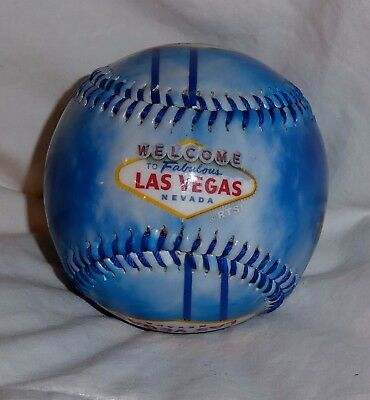 Brand New Nwot Welcome To Fabulous Las Vegas Collectible Souvenir Baseball Ball
