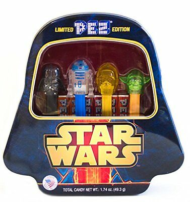 Star Wars Pez Limited Edition Candy Dispensers Collector's Tin