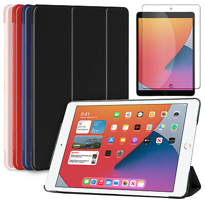 For iPad 6th Generation 9.7 2018 Shockproof Slim Soft Case+Screen Protector Film