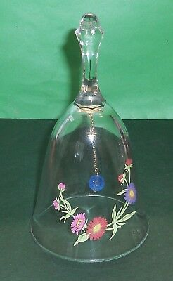 Vintage Crystal Avon Bell The Birthday Collection