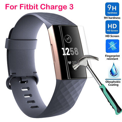5pcs Explosion-proof Screen Protector Protection Film for Fitbit Charge 3