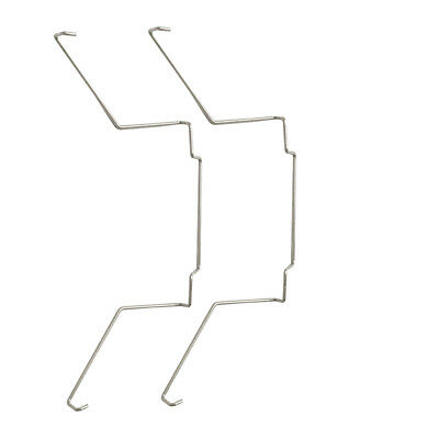 Pair Fan Mounting Clip Buckle for CPU Cooler Heat Sinks Radiator 3.7in/9.5cm