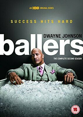 Ballers - Season 2 [DVD] [2016] - DVD  7DVG The Cheap Fast Free Post