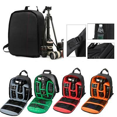 Waterproof DSLR Camera Backpack Shoulder Bag Case Box for Sony Canon Nikon DSLR