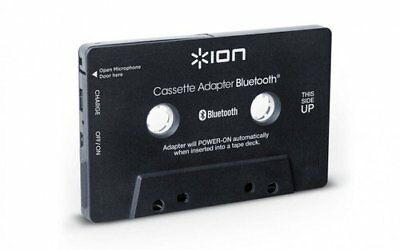 ION Audio Cassette Adapter Bluetooth, Bluetooth Music Receiver for Cassette With