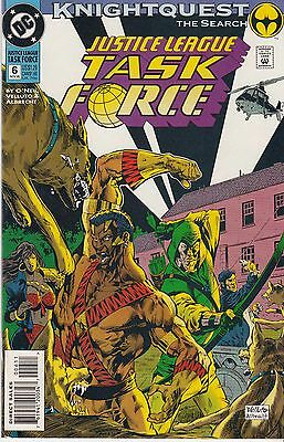 JUSTICE LEAGUE TASK FORCE 6...VF/NM...1993...Knightquest!...Bargain!