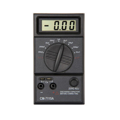 FM- LC_ CM7115A Capacitor Digital Meter High Accuracy Capacitance Tester Multime