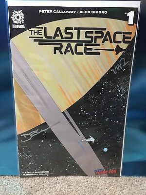 Last Space Race #1 NYCC Signature Variant Comic Book Exclusive Cover
