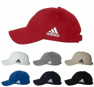 ADIDAS GOLF NEW Mens Cotton Crest Twill Cap Unstructured Ball Hat Adjustable A12
