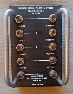 Empire State Filter Co. 5 Channel Video Hum Eliminator Model 500