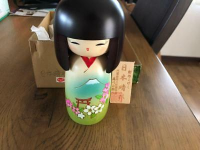 Kokeshi Japanese traditional craft cute rare kimono vintage retro beauty F / S!