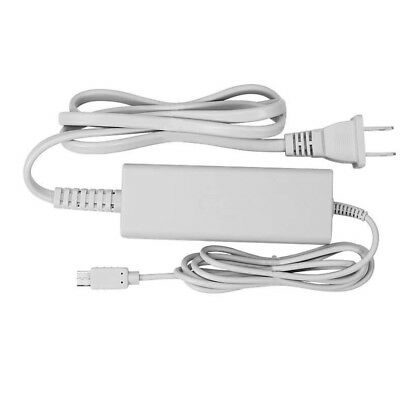 US Plug AC Wall Charger Power Supply Adapter For Nintendo Wii U Console Gamepad