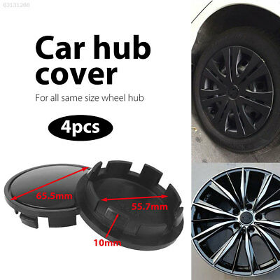 58B8 Hub Cap Car Wheel Cover SS17 Dust Cover Vehicle Durable Premium Black
