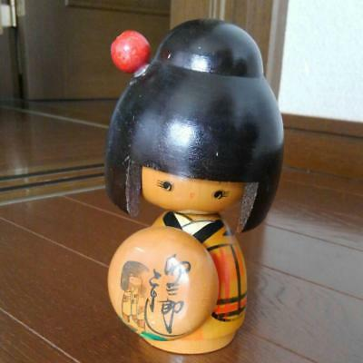 Kokeshi Japanese traditional craft girl cute rare popular vintage retro F / S!
