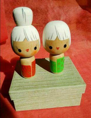 Kokeshi Japanese traditional craft cute rare popular vintage mini kokeshi F / S!