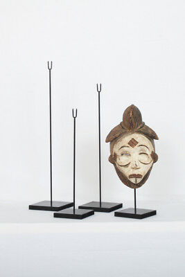 SOCLE POUR MASQUE AFRICAIN 4 hauteurs au choix - Mask stand 4 heights to choose