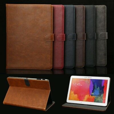 Luxury Leather Cover Case For Samsung Galaxy Tab A T580 T585 E T560 S2 S3 S4