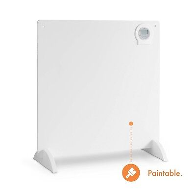 VonHaus Electric Panel Heater - Freestanding / Wall Mounted - Timer & Thermostat