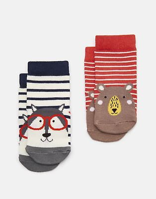 Joules 125031 Character Socks in BEAR