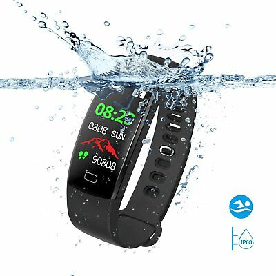Smart Montre Bracelet Connectée Intelligente SAVFY Etanche IP68 Sport Natation