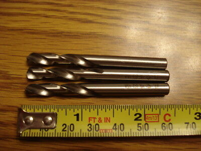 Lot of 3 Cleveland Cobalt  #3, Number 3, Stub Length Drills, USA NEW