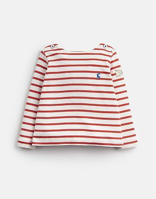 Joules 124963 Breton Top in RED STRIPE