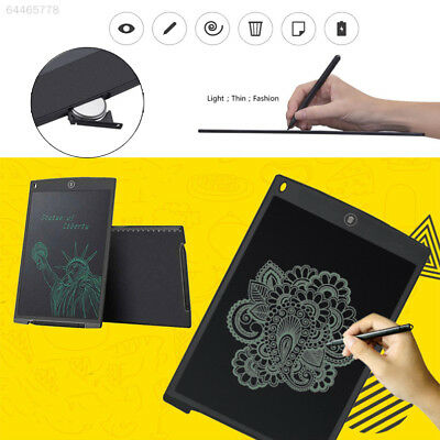 """12""""inch Digital LCD Writing Pad Tablet Drawing Graphics Board Electronic Notepad"""