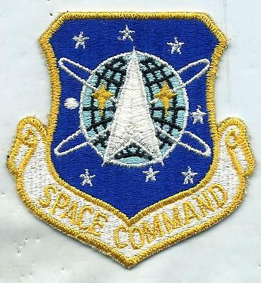 US Air Force Space Command Air Force Patch / Older Version