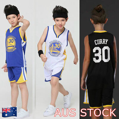 best cheap 8292f 3b7f9 STEPH CURRY #30 Kids Children's Youth Basketball Jersey Golden State  Warriors AU