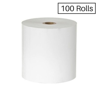 100 Rolls 80X80mm Thermal Paper, Receipt Rolls $134.00-Ebay only