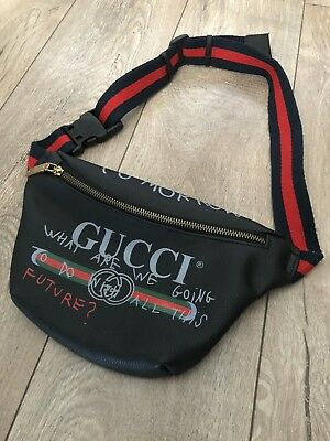 d84d40b38e7da GUCCI COCO CAPITAN Logo Bauchtasche In Schwarz One Most Have ! - EUR ...