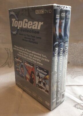 Top Gear Collection 3 DVD Boxset New Sealed BBC 2006 Clarkson Hammond May