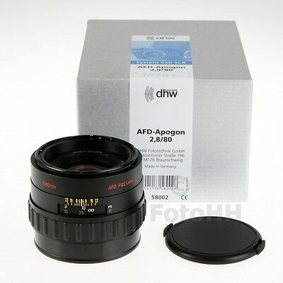 Rollei ** Afd-Apogon 2.8/80Mm (Rollei Number : 58002) ** Brand New Full Warranty