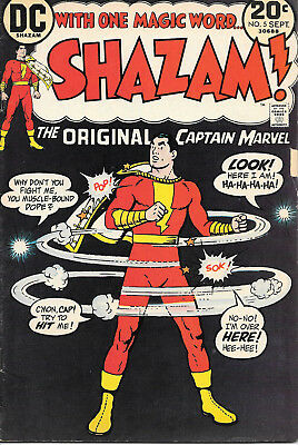 Shazam #5 (DC Comics, Sept 1973) 8.0 VF