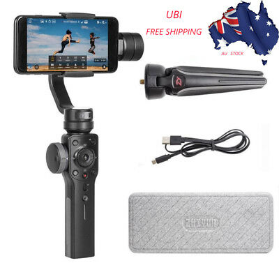 Smooth 4 3-Axis Handheld Gimbal Stabilizer For Smartphone iPhone Black AU STOCK!