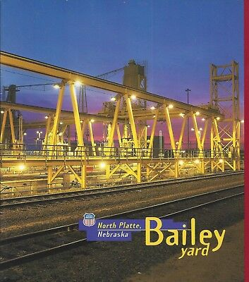 Vintage 1995 Union Pacific Railroad, Bailey Yard, North Platte, Nebraska Booklet