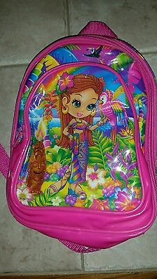 Lisa frank insulated small lunchbag backpack