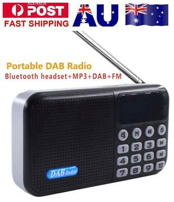 All-in-one Portable DAB Digital Radio Bluetooth Speaker+DAB+FM+MP3 with Mini USB